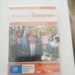 Always Greener Season 1 Volume 2 DVD Australian Tv Series Comedy Sealed