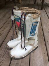 O'Neal Mini Pro Motcross ATV Boots sz 4 white /pink youth