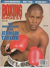 BOXING DIGEST MAGAZINE JERMAIN TAYLOR OCTOBER 2005
