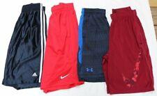 Lot 4 Nike, Under Armour, Adidas Men's Dri-fit Athletic Shorts- Sz S Basketball