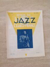 Revue Du Hot Jazz Club De France Numéro 5 -Mars 1946 Johnny Hodges