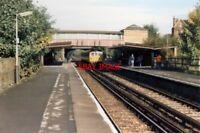 PHOTO  1988 CRUMPSALL RAILWAY STATION 1988