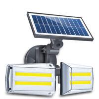 LED Solarlampe Wandlampe Straßenlaterne Gartenlichter Draussen Beleuchtung IP65