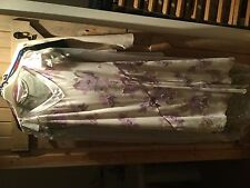 Next Petite formal oyster and lilac pearl detail dress handkerchief sleeve 12
