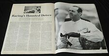 EDDIE SACHS 1962 INDY 500 RACINGS HAUNTED DRIVER INDIANAPOLIS RACE PICTORIAL