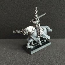 Grail Knight Hero Warhammer Fantasy Age of sigmar Bretonnia Metal oop