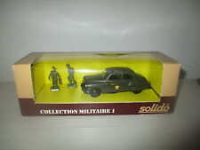 CHEVROLET HQ COLLECTION MILITARE I N°6033 SOLIDO SCALA 1:43