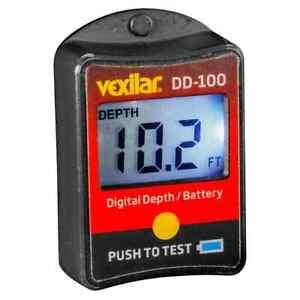 Vexilar FL Digital Depth & Battery Display Status Indicator - NEW!