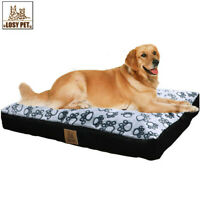 Washable Waterproof Pet Bed Full of Cotton Inside Dog Pad with Removable Cover