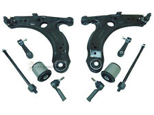 AUDI A3 MK1 FRONT 2 WISHBONE ARMS OUTER INNER TRACK ROD ENDS LINKS + AXLE BUSHES