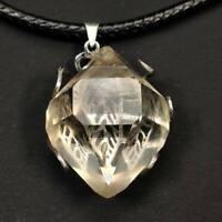 A++++ Top Quality Herkimer Diamond Quartz Crystal Pendant Healing Gift 11g 16