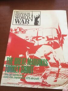 purnells history of the second world war No.67 Great Marianas Shoot Magazine