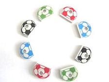 KEY COVERS Football Key Caps Assorted Colours Top Head Covers ID Tag Keyring