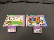 LeapFrog Little Touch Library Lot Mr Brown Can MOO & One Bear in the Bedroom
