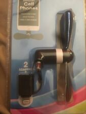 iPhone Android Micro Usb 2 In 1 Mini Mobile Smartphone Cell Phone Cooling Fan