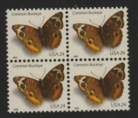 2006 Buckeye butterfly Sc 4000 MNH block of 4 limited printing WAG