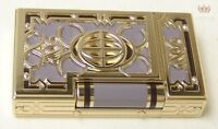 S.T DUPONT LIMITED EDITION NEW YORK 5TH AVENUE LACQUER LIGNE 2 LIGHTER SPLENDID!