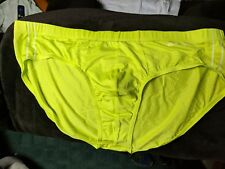 EVOLVE BY 2XIST NO SHOW MICRO MESH BRIEF XL  GREEN YELLOW