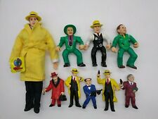 Vintage Playmates Dick Tracy Action Figure Applause Pvc & Plush Doll Lot