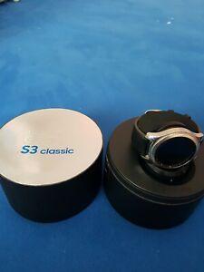 Samsung Gear S3 Classic 46mm Black Leather Band - (SM-R770NZSAXAR)