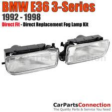 Fog Lights BMW E36 3-Series 92-98 2Dr 4Dr Sedan Coupe Front Bumper Lamps