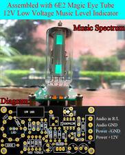 12v Low Voltage 6e2 Magic Eye Music Spectrum Audio Level Fluorescence Indicator