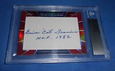 "Emile ""Cat"" Francis 2014 Leaf Sports Icons Auto #3/5 Hockey HOF/Rangers"