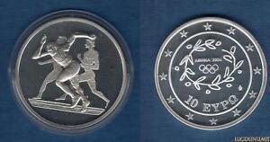 Grèce 2003 10 Euro Course Jeux Olympiques été Athénes 2004 - Greece
