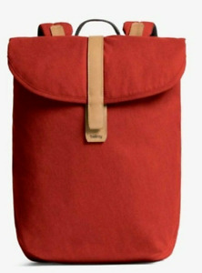 NWT - BELLROY Unisex 'SLIM' Red Ochre BACKPACK - UP TO 15''