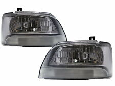 Carry Tenth generation 1999-2002 Pickup 2D Clear Headlight Chrome for SUZUKI LHD