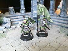 LOTR Warhammer Warriors of Arnor Command OOP Metal
