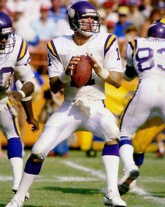 WADE WILSON 8X10 PHOTO MINNESOTA VIKINGS PICTURE NFL FOOTBALL