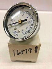 """16079-1 Forenta Air Pressure Gauge 1/4"""" Npt"""