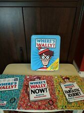 Where's Wally? The Totally Terrific Tin by Martin Handford Novelty Books in Tin