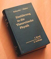 Einführung in die theoretische Physik Schaefer Päsler I. Band Mechanik
