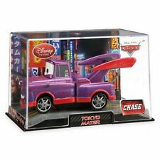 Disney Store Cars 2 Die Cast Collector Case Tokyo Mater Purple 1:43 Scale NEW