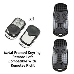 COMPATIBLE REMOTE for CAME BLACK No 2CR 2016 433.92MHZ FCC ID: M48 TOP43XEV