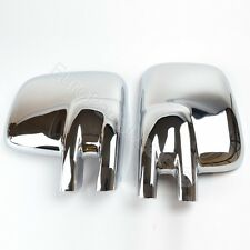Chrome wing mirror cover caps for Volkswagen T4 1990-2003