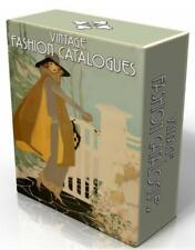 60 VINTAGE FASHION /DEPARTMENT STORE CATALOGUES on DVD!