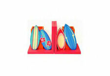 Surfboard Bookends- 4KnB