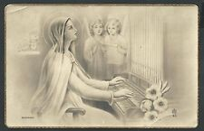Postal antigua de Santa Cecilia andachtsbild santino holy card santini