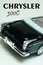 Chrysler C 300 (1955) Black Scale 1:43 New Ray Diecast model car