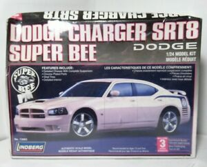 Lindberg Dodge Charger SRT8 Super Bee 2007 1:24 Scale Model Kit 73065 SEALED