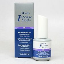 ibd Intense Seal UV NO CLEANSE TOP COAT 14 ml 0.5 oz.