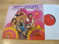 LP Robert Last Chor Orchester Happy Dancing 28 Melodien Vinyl Decca SLK 16 748-P