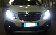 Pair Bulbs H7 LED Bright 80W White 6000K Low Beam For Vauxhall Mokka 2012-2019