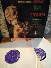 Hand Signed Requiem 1961 Vishnevskaya record parliament PLP-154-2 PETROV maidoff