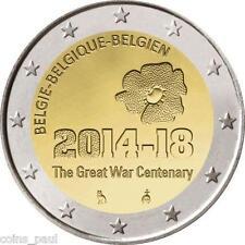 Belgium Belgie Belgique Belgien Бельгия  2 Euro, 2014 100 years from WWI UNC
