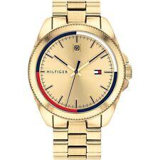 Tommy Hilfiger 1791686 Mens Gold Tone Bracelet Wristwatch