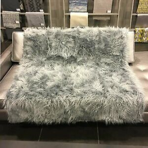 Gigi - Luxurious Shaggy Faux Fur Throw Blanket - Available in 8 Colors